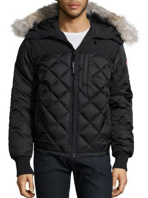 34945333237c CANADA GOOSE PRITCHARD DIAMOND QUILTED COAT.  canadagoose  cloth  coat