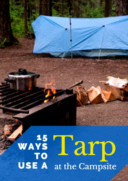 Few pieces of camping equipment are as versatile as a tarp. So, instead of leaving it sitting at the bottom of your camping box, take it out and see what you can do with it. Not sure where to start? Here are 15 ways to get creative at the campsite. 15 Ways to Use a Tarp at the Campsite http://www.active.com/outdoors/articles/15-Ways-to-Use-a-Tarp-at-the-Campsite.htm?cmp=23-243-885