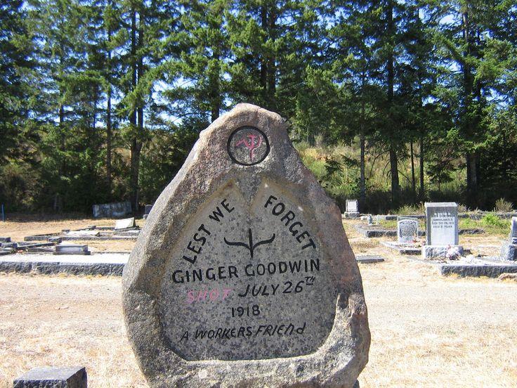 Cumberland Cemetary/ Ginger Goodwin