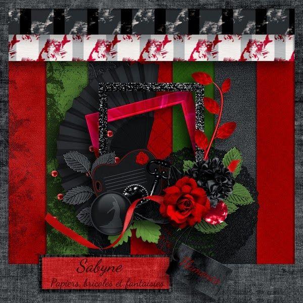 """Kit """"Flamenco"""" Sabyne"""