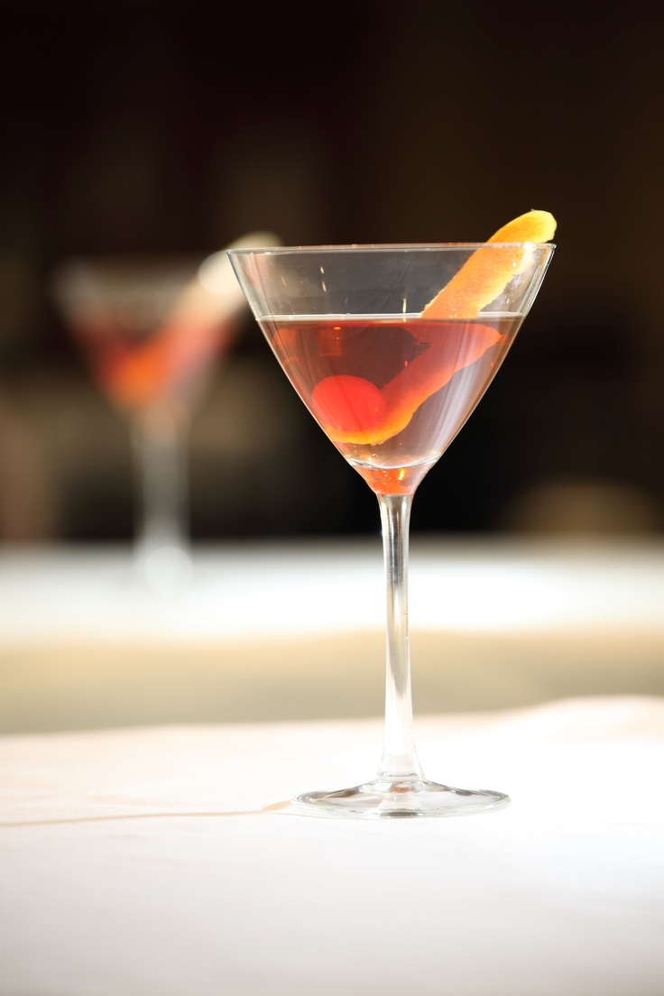 A Manhattan of uncompromising quality. The team of mixologists at North Bridge Brasserie will offer a choice of rye whiskies or bourbons to serve with Italian dry or sweet vermouth, alongside Angostura bitters, stirred gently over ice.