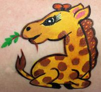 Giraffe- Face Painting