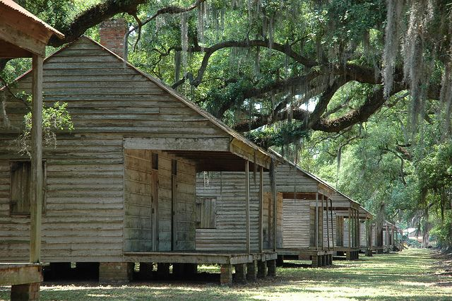 Slave Quarters: Evergreen Plantation-8050 by MSMcCarthy Photography, via Flickr