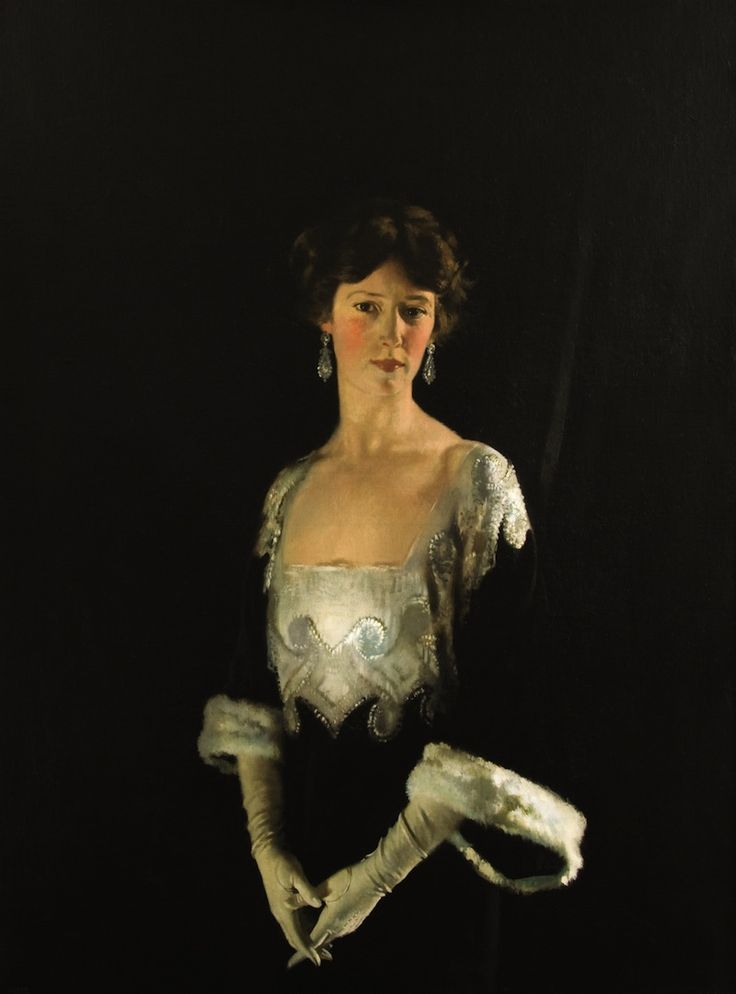 +William Orpen - Portrait of Rosie, Fourth Marchioness of Headfort.