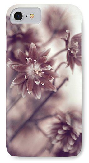 Eternal Flower Dreams  IPhone 7 Case for Sale by Jenny Rainbow.  Protect your iPhone 7 with an impact-resistant, slim-profile, hard-shell case.  The image is printed directly onto the case and wrapped around the edges for a beautiful presentation.  Simply snap the case onto your iPhone 7 for instant protection and direct access to all of the phone's features!