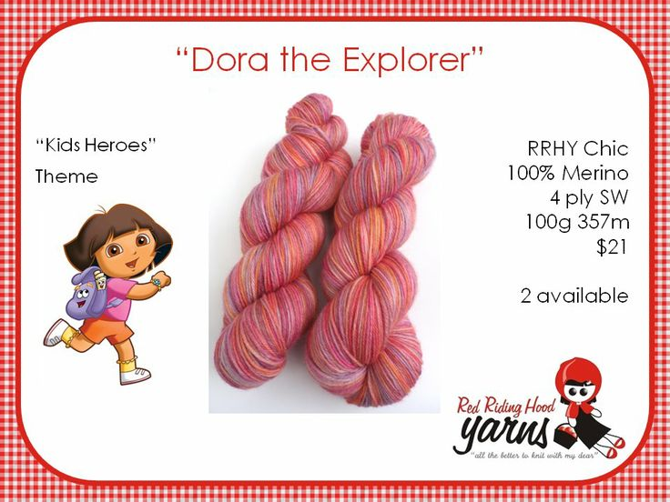 Dora the Explorer - Kids Heroes | Red Riding Hood Yarns