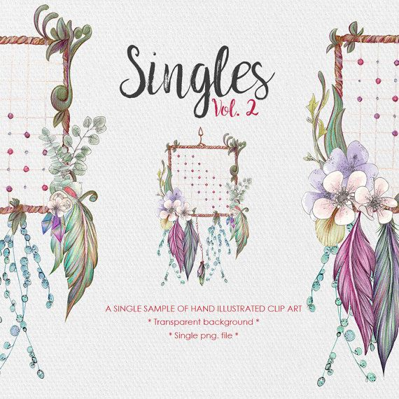 Floral Dreamcatcher  Singles Vol.2  Dreamcatcher by JessicaOxleyAI