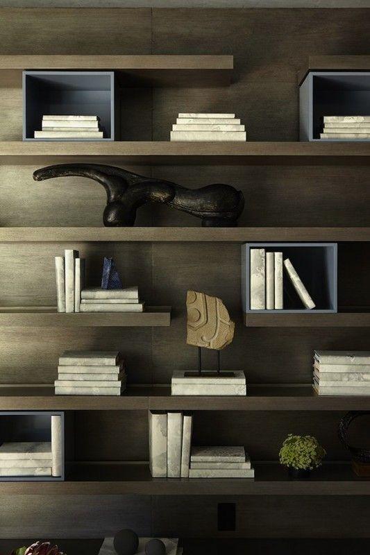 Image result for shelf styling