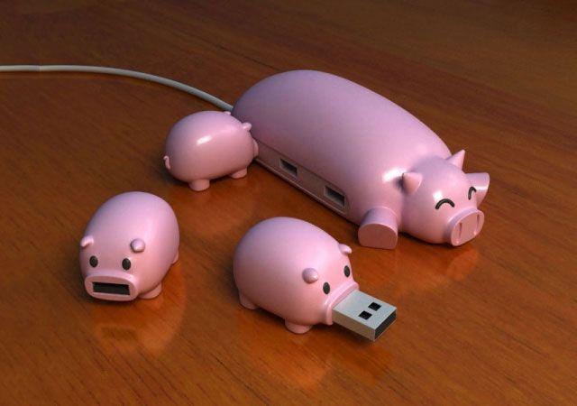 Pig USB Hub
