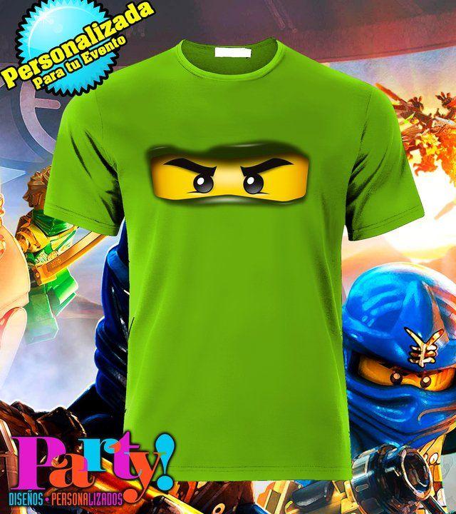Playera Personalizada Lego Ninjago - comprar online