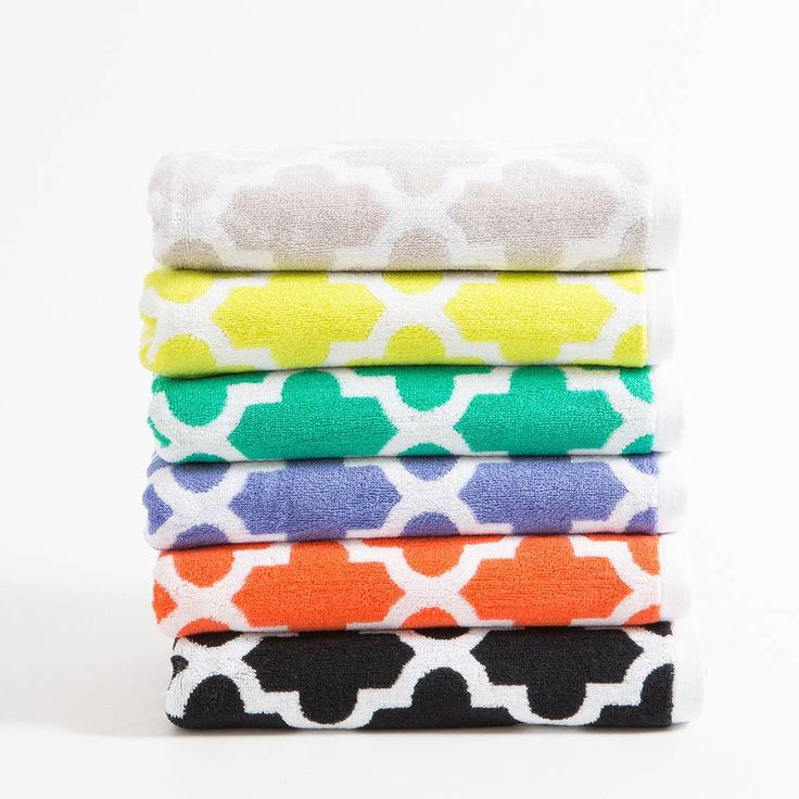 Aspire's Venice towels are great for giving your bathroom an instant lift. These soft and luxurious towels come in six colours, and feature a timeless latticework pattern. Complete the look by coordinating with the Bella and Spot ranges.