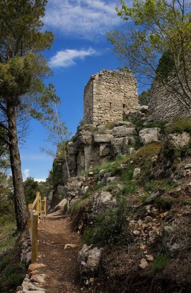 Castell Albiol © Muntanyes Costa Daurada http://www.costadoradatransfers.com/esp/