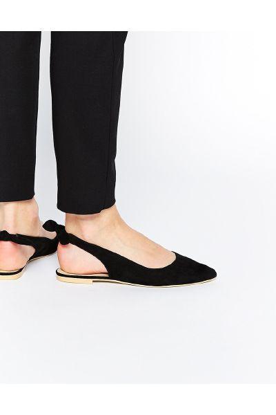 Asos LARISSA Sling Back Ballet Flats - The Fashion
