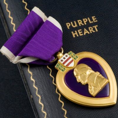 On this day, August 7th, 1782, President George Washington ordered the creation of the Badge of Military Merit to honor soldiers wounded in battle. It is later renamed to the more poetic Purple Heart.