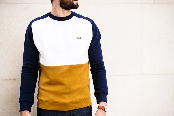 sweat lacoste homme max