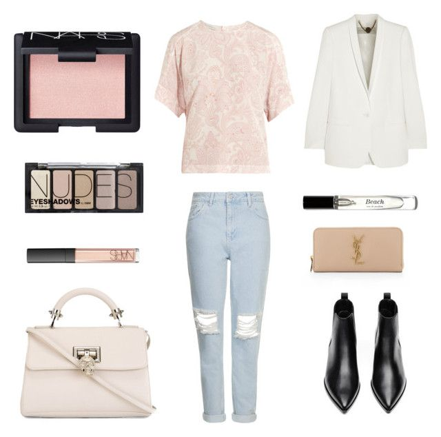 """""""Cheer up"""" by weijin on Polyvore featuring NARS Cosmetics, STELLA McCARTNEY, Topshop, Acne Studios, Philipp Plein, Bobbi Brown Cosmetics, H&M and Yves Saint Laurent"""