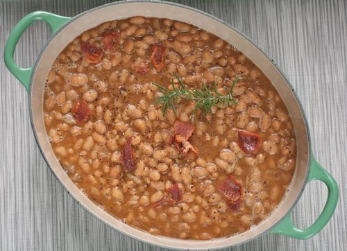 Beer-Baked White Beans Recipe — Dishmaps