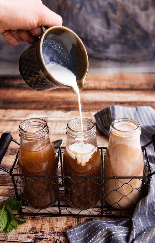 Fresh Mint Mocha Cold Brew Coffee