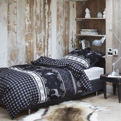 Venecia Home Flanell Bettwäsche Snowflake grey online kaufen