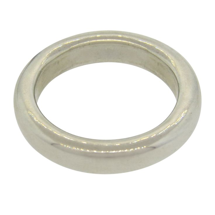 Slane & Slane Sterling Silver Smooth Round Ring Band