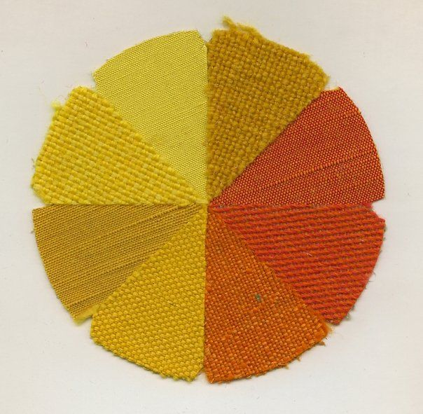 Classic mid-century fabrics from Knoll. Florence Knoll preferred to display the fabrics in a wheel pattern.