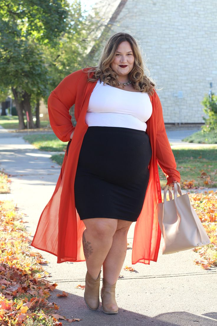 Fat Girl Meets Fall Fashions // Fatgirlflow.com