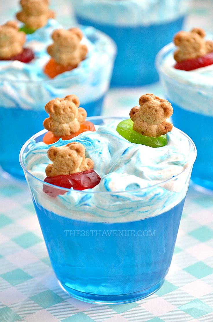Summer Dessert - Pool Party Ideas - The 36th AVENUE