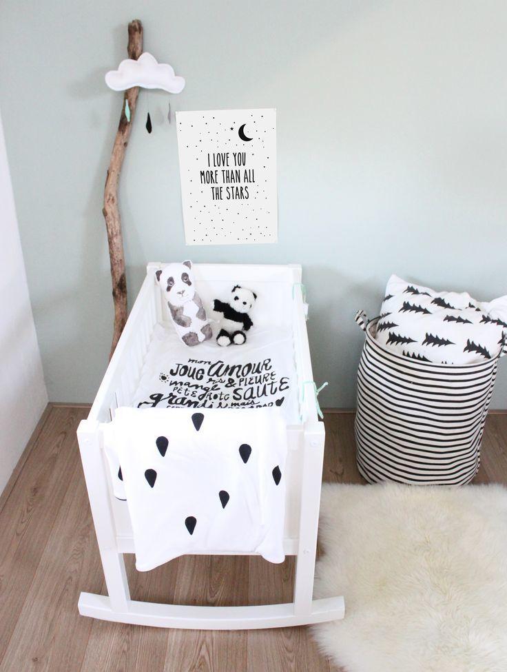 Moderne babykamers met een Scandinavisch tintje