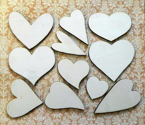 Sada srdcí 11 kusů