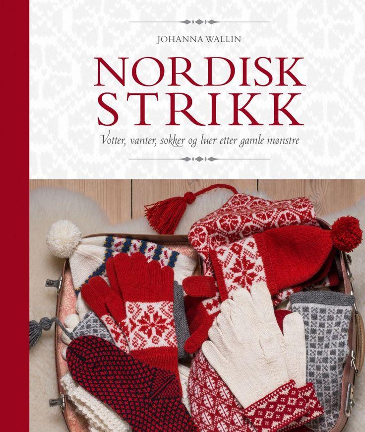Nordisk strikk av Johanna Wallin (Innbundet)
