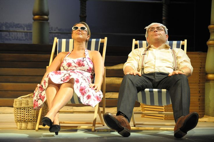 SEPTEMBER IN THE RAIN (Mon 18 - Sat 23 Nov) Starring Claire Sweeney and John Thomson, John Godber's bittersweet comedy charts the life of Yorkshire couple Jack and Liz through their annual summer holiday jaunt