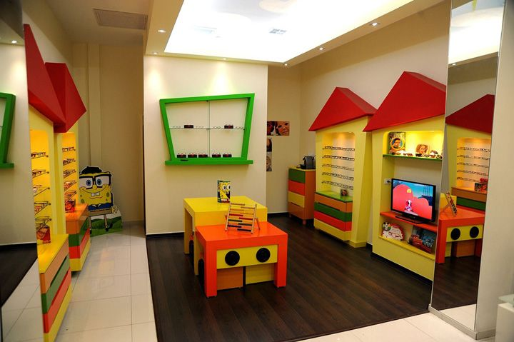 Kids Optic Shop By Simenhouse Jerusalem Retail Design