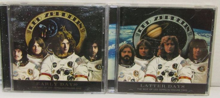 Led Zeppelin : The Very Best of Led Zeppelin - Early Days and Latter Days (2CDs) #HardRock