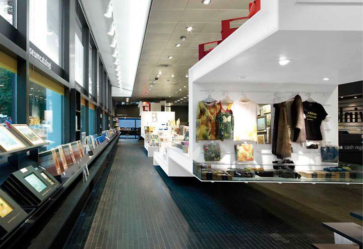 MUSEUM SHOPS! Van Gogh Museum Shop by DAY, Amsterdam – Netherlands » Retail Design Blog