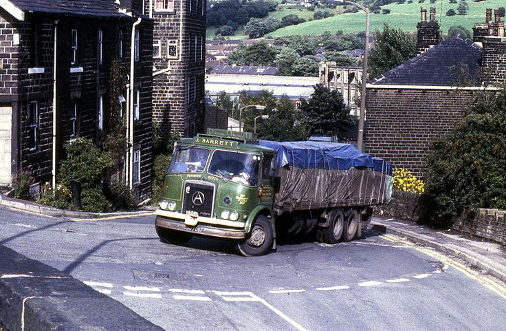 https://flic.kr/p/qRiT83   J Barrett Atkinson Mk1 Six Wheeler Reg No ODJ 706F   Operated by Barrett's of Delph Atkinson Mk1 six wheeler Reg No ODJ 706F was named 'Pennine Gipsy'. Powered by a Gardner 150 6LX engine it is pictured negotiating the hairpin bend at Greenfield Station in Saddleworth on the 22nd of August 1982. Originally registered new to Tabern's of St Helens on the 1st of November 1967 it was sold on and bought for preservation when Colin Barrett retired it. Today, as can...