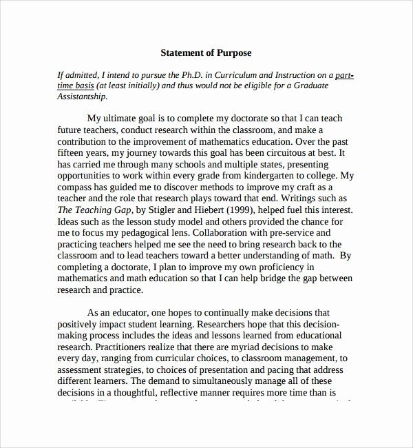 Letter Of Purpose Examples from i.pinimg.com