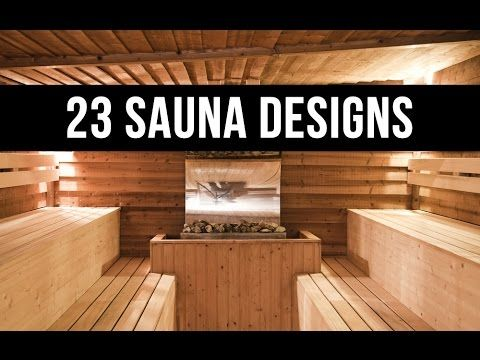 23 hot home sauna designs video random rooms for Make your own sauna at home