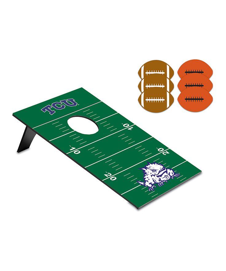 TCU Horned Frogs Football Bean Bag Throw Game