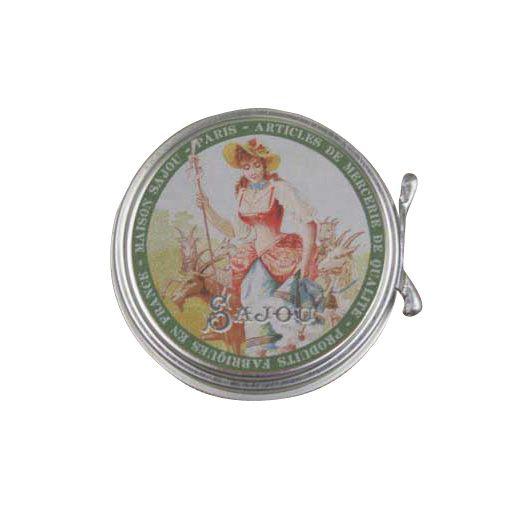 Boîte métal épingles de sûreté miniature - Sajou