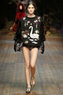 Dalce & Gabbana A/W 2014 Paris Fashion week Feb.