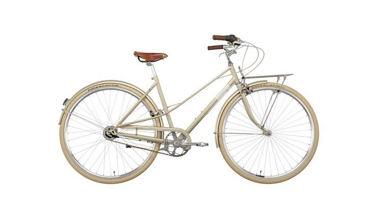 Creme Caferacer Doppio - Vélo de ville Femme - 7-speed beige