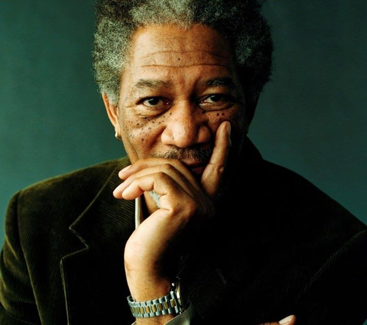 Morgan Freeman: I always tell my kids if you lay down people will step over you. But if you keep scrambling if you keep going someone will always always give you a hand. Always. But you gotta keep dancing you gotta keep your feet moving. #MorganFreeman #HumanNote