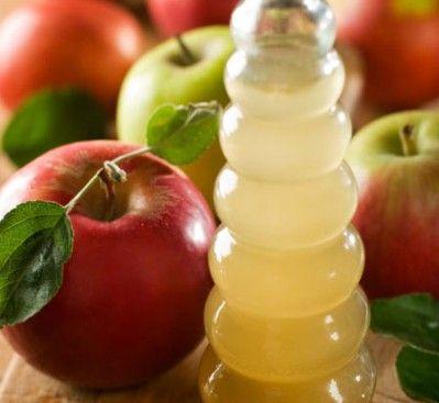 toner de vinagre de maçã e aspirina