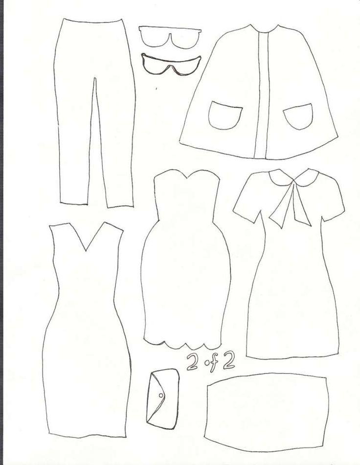 Bien connu Oltre 25 fantastiche idee su Abiti per bambole su Pinterest FP63