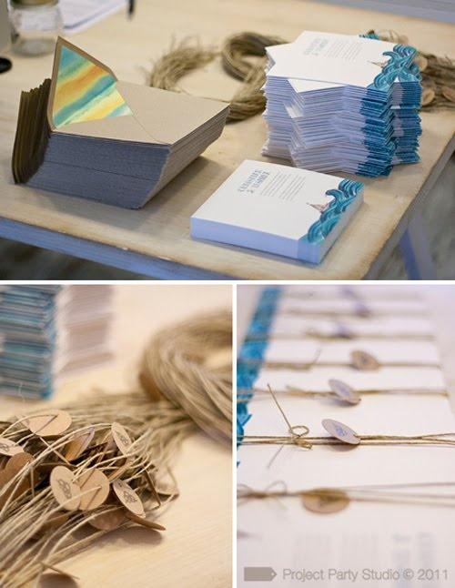 #papelería #bodas #invitación #mar #ilustración #stationery #wedding #invitation #sea #illustration @obs form Party Studio