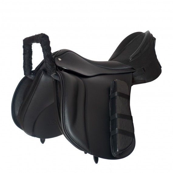 RDA Adapted Saddle This Saddle is a specially designed bespoke Riding for Disabled Adapted Saddle to provide extra support for riders with greater disabilities