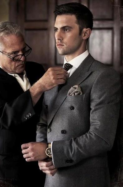 Milo Ventimiglia lookin sharp.