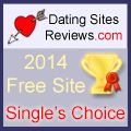 2014 Dating Sites Reviews Single's Choice Award - Free Site