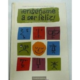 """""""Enséñame a ser feliz"""", lleva por sobretítulo """"La primera guía para educar en la felicidad"""". Se trata de un libro que recoge una serie de consejos y ejercicios, así como nociones básicas y ejemplos orientados al aprendizaje vicario o social, que no es más que aprender algo viendo las consecuencias que tiene para el modelo (el sujeto que realiza la acción) su conducta. http://ensenyamfeliz.blogspot.com.es/ http://rabel.jcyl.es/cgi-bin/abnetopac?SUBC=BPSO&ACC=DOSEARCH&xsqf99=506795"""