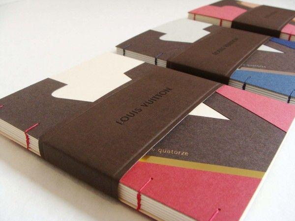 Julie Auzillon – Reliure et papeterie de création pour Louis Vuitton